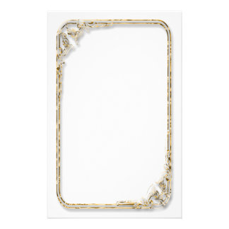Satin-Look Framed Stationery