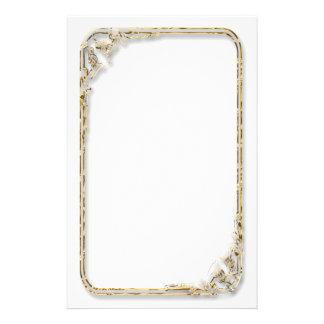 Satin-Look Framed Stationery