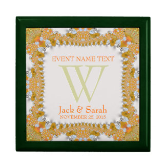 Satin Pearls Lace Wedding Anniversary Gift Box