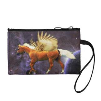 Satin Pegasus Coin Purse