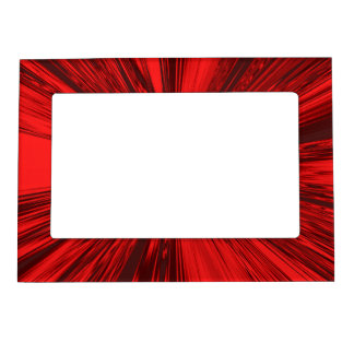 Satin- Red Magnetic Frame