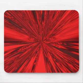 Satin- Red Mouse Pads