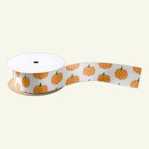Satin Ribbon-Halloween Pumpkins Satin Ribbon