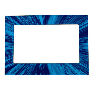 Satin- Royal Blue Magnetic Picture Frame