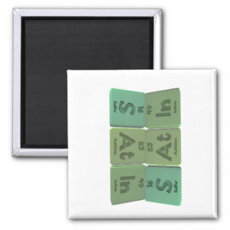 Satin-S-At-In-Sulfur-Astatine-Indium.png 2 Inch Square Magnet