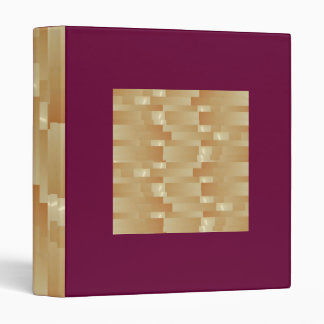 Satin Silk Golden Strips - Shadow Art101 Binder
