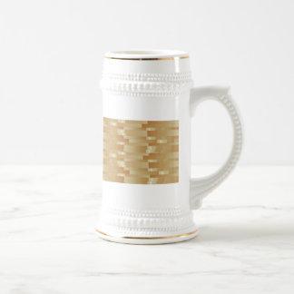 Satin Silk Golden Strips - Shadow Art101 Coffee Mug