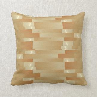 Satin Silk Golden Strips - Shadow Art101 Pillows