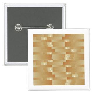 Satin Silk Golden Strips - Shadow Art101 Pinback Button