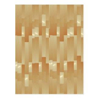 Satin Silk Golden Strips - Shadow Art101 Postcard