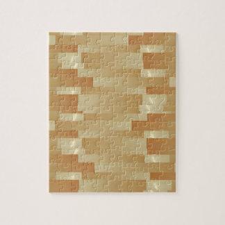 Satin Silk Golden Strips - Shadow Art101 Puzzle