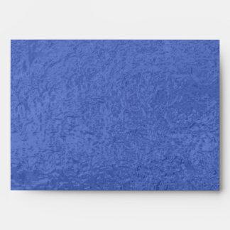 Satin Silk Look Luxury Blue Dark - Graphic Design Envelope