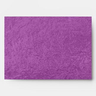 Satin Silk Luxury Dark Purple - Graphic Design Envelope