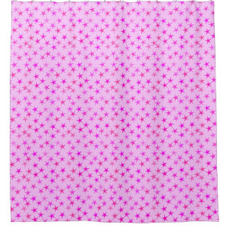 Pale Pink Shower Curtain. Satin stars  orchid on pale pink shower curtain Shower Curtains Zazzle