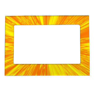 Satin- Yellow Magnetic Photo Frame