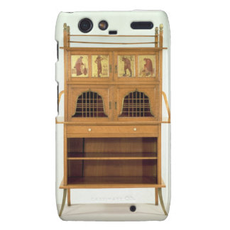 Satinwood Cabinet with Painted Panels, c.1877 (sat Motorola Droid RAZR Cases