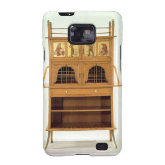 Satinwood Cabinet with Painted Panels c 1877 sat Galaxy SII Cases