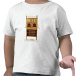 Satinwood Cabinet with Painted Panels, c.1877 (sat Tshirts