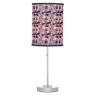 Satiny Pink Table Lamp