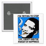 Sátira de Barack Obama/botón de la parodia Pins