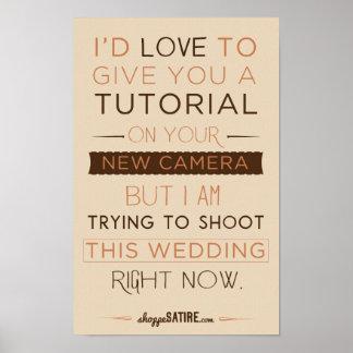 Sátira del Shoppe - humor para los fotógrafos Impresiones