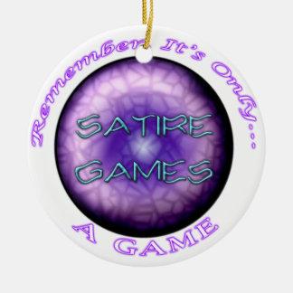 Satire Games Ornament