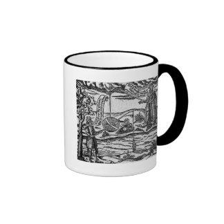 Satire of Fishing, 'A Book Roxburghe Ballads' Coffee Mug