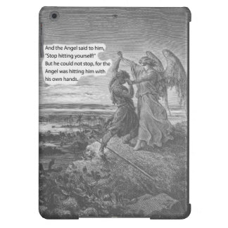 Satire of Jacob wrestling with the Angel iPad Air Covers