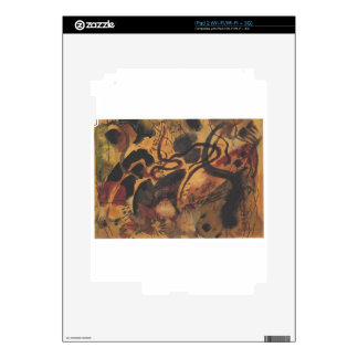 Satire to the Blue Rider by August Macke Decal For The iPad 2