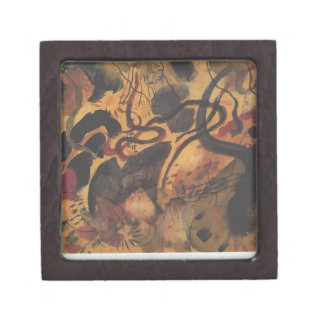 Satire to the Blue Rider by August Macke Jewelry Box