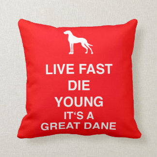 Satiric Great Dane Pillows