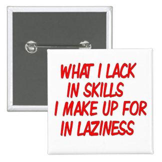 satirical laziness button