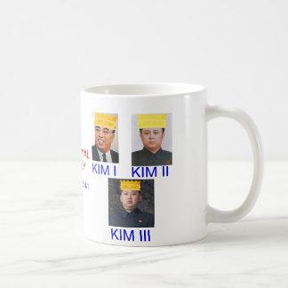 Satirical, NORTH KOREA* Kim Royal Family Coffee Mug