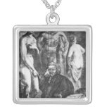 Satirical portrait of Laurence Sterne, c.1761 Jewelry