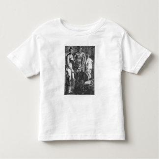 Satirical portrait of Laurence Sterne, c.1761 Toddler T-shirt