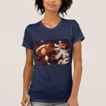 Sátiro con los campesinos de Liss Juan (la mejor Camiseta