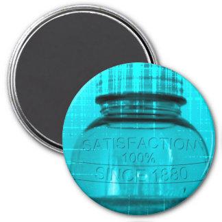 Satisfaction 100 Percent Jar Magnet Fridge Magnets