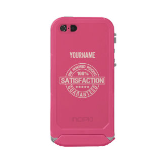 SATISFACTION GUARANTEED custom cases