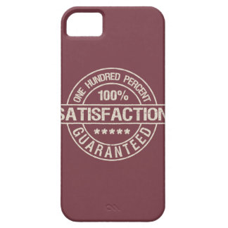 SATISFACTION GUARANTEED iPhone 5 case-mate