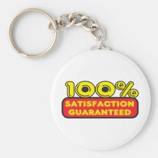 satisfaction guaranteed keychain