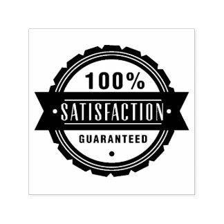 Satisfaction guaranteed self-inking stamp
