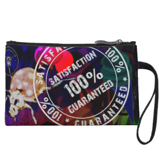 Satisfaction Guaranteed Wristlet