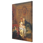 Satisfaction of Marriage or, The Happy Family Gallery Wrap Canvas