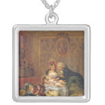 Satisfaction of Marriage or, The Happy Family Pendants
