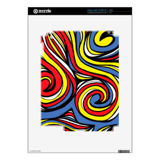 Satisfactorio atractivo concienzudo divino calcomanías para el iPad 2