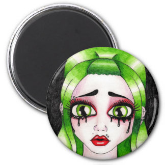 Satisfactory Sorrow 2 Inch Round Magnet