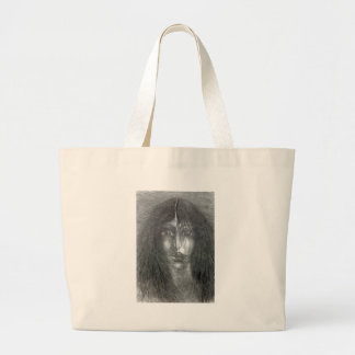 Satisfied Large Tote Bag