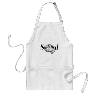 Satisfied mind.png adult apron