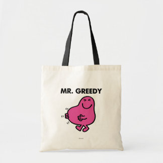 Satisfied Mr. Greedy Tote Bag