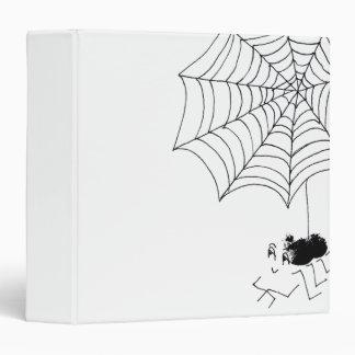 Satisfied Spider 3 Ring Binder